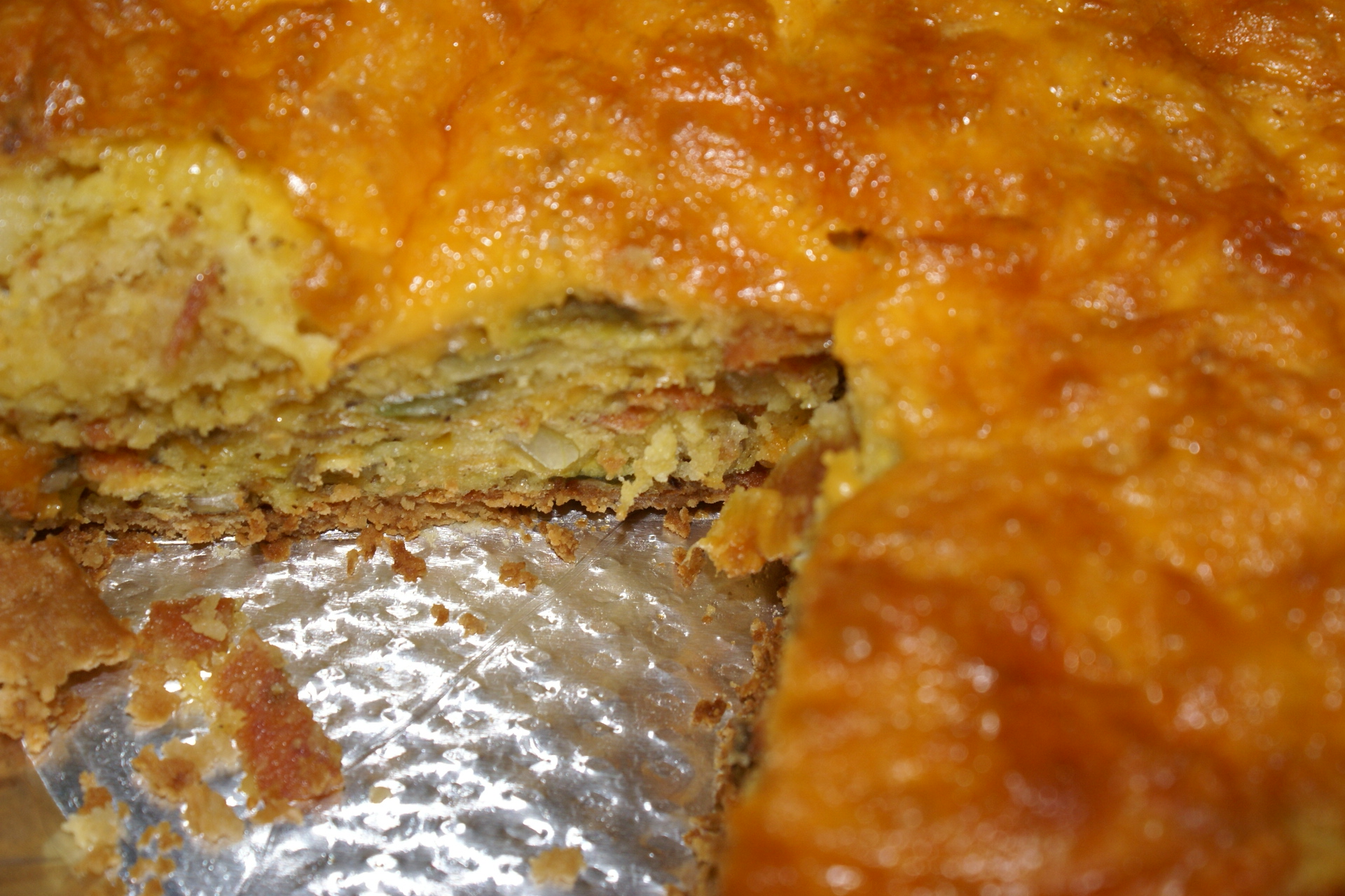 What's on the Menu – Bacon/Vegetable Quiche