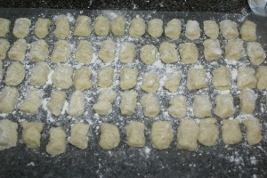 Frugal Cooking: Too many potatoes – Make Gnocchi