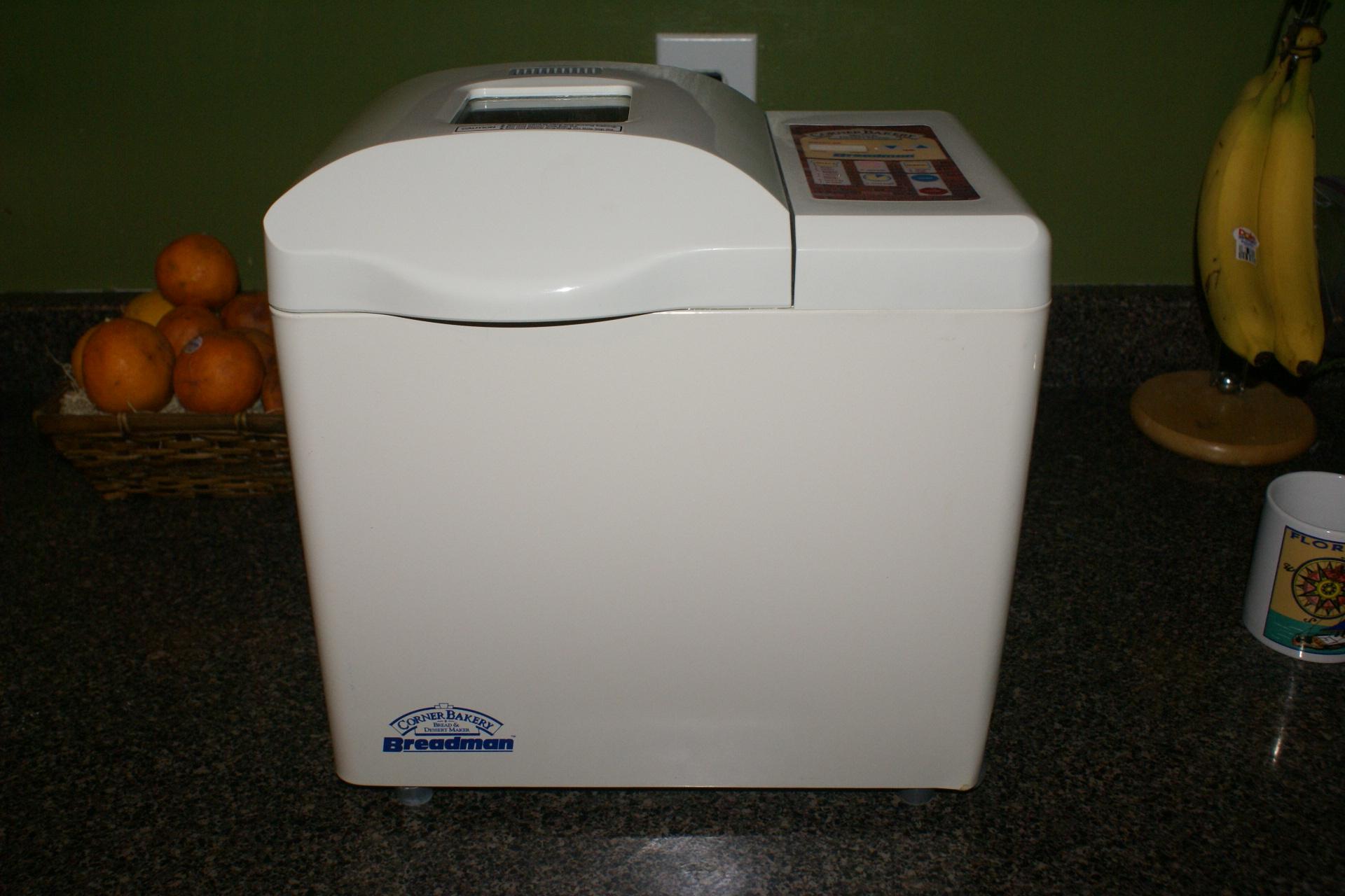 Photo of the Day: BreadMan Bread Machine