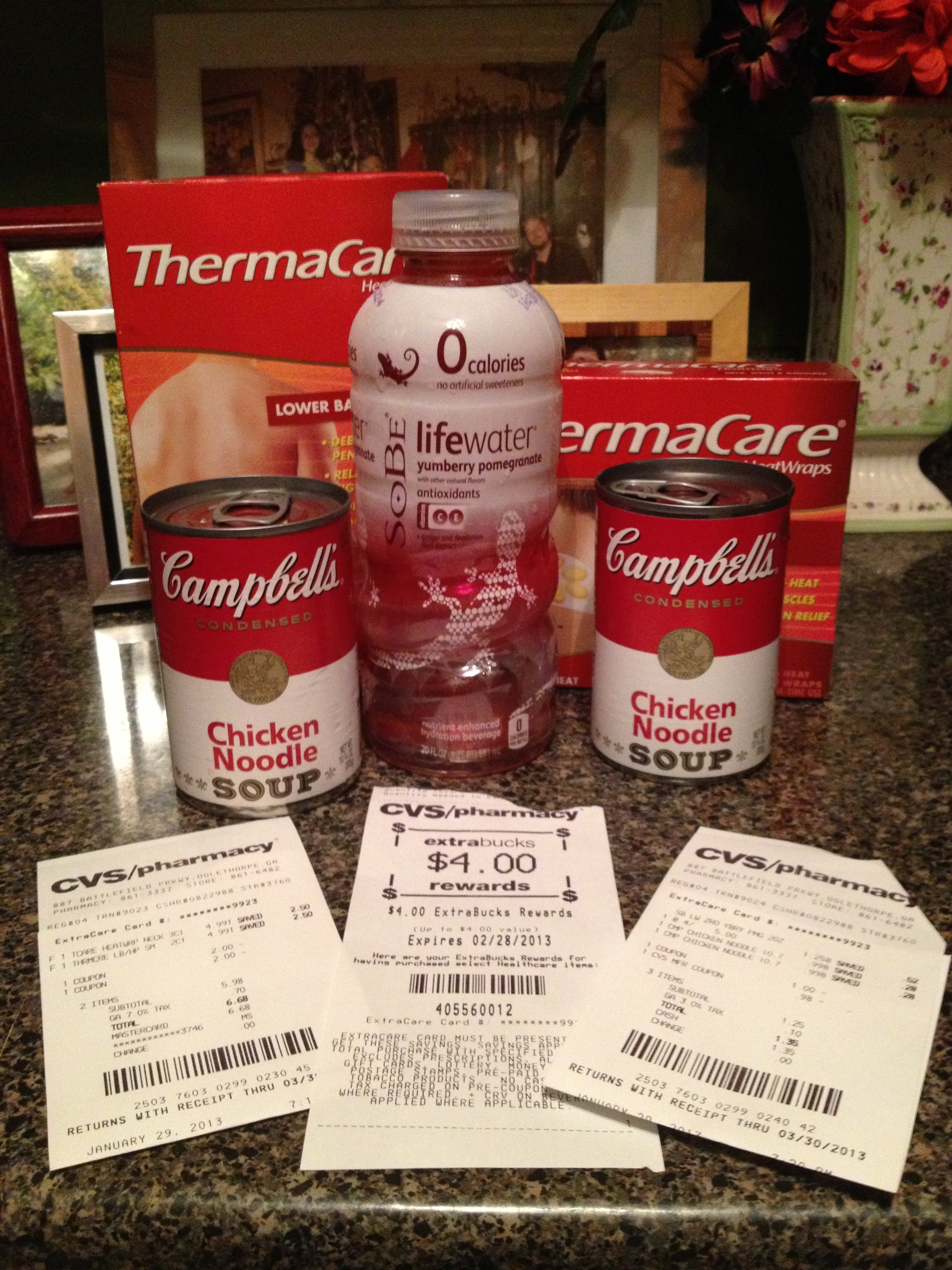 CVS Shopping Trip 1/29/13