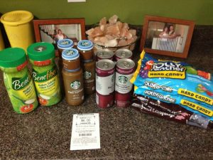 CVS Coupon Shopping Trip 10/12/14 – FREE CANDY!